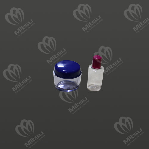 ACRYLIC CREAM JAR AND PET BOTTLE